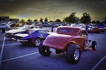 Buda Gearheads Weekly Meet - Cabela's car show